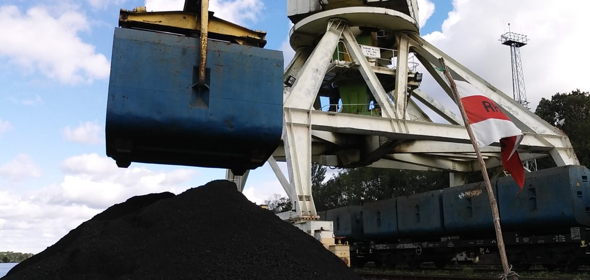 More than 200,000 tons of coal flowed from Gliwice to Wroclaw