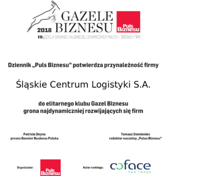 Business Gazelles 2018