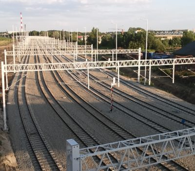 Gliwice Port Station after reconstruction