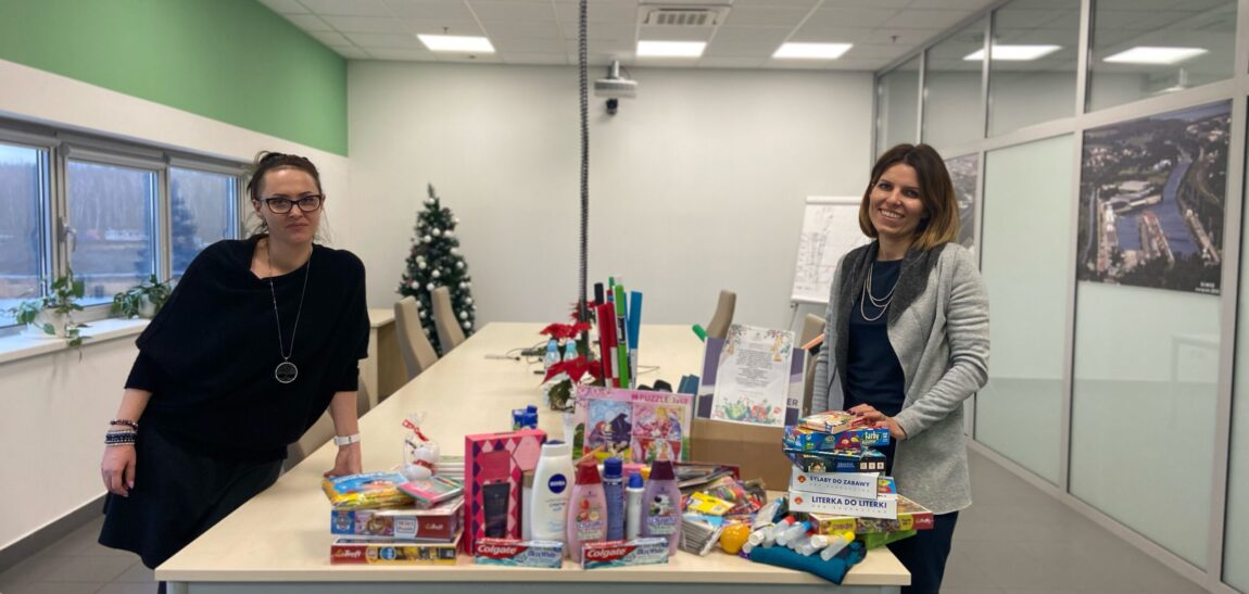 Charity action made by the Silesian Logistics Centre!