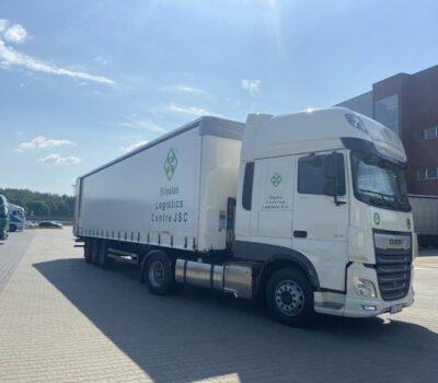 New trucks in Silesian Logistics Centre JSC